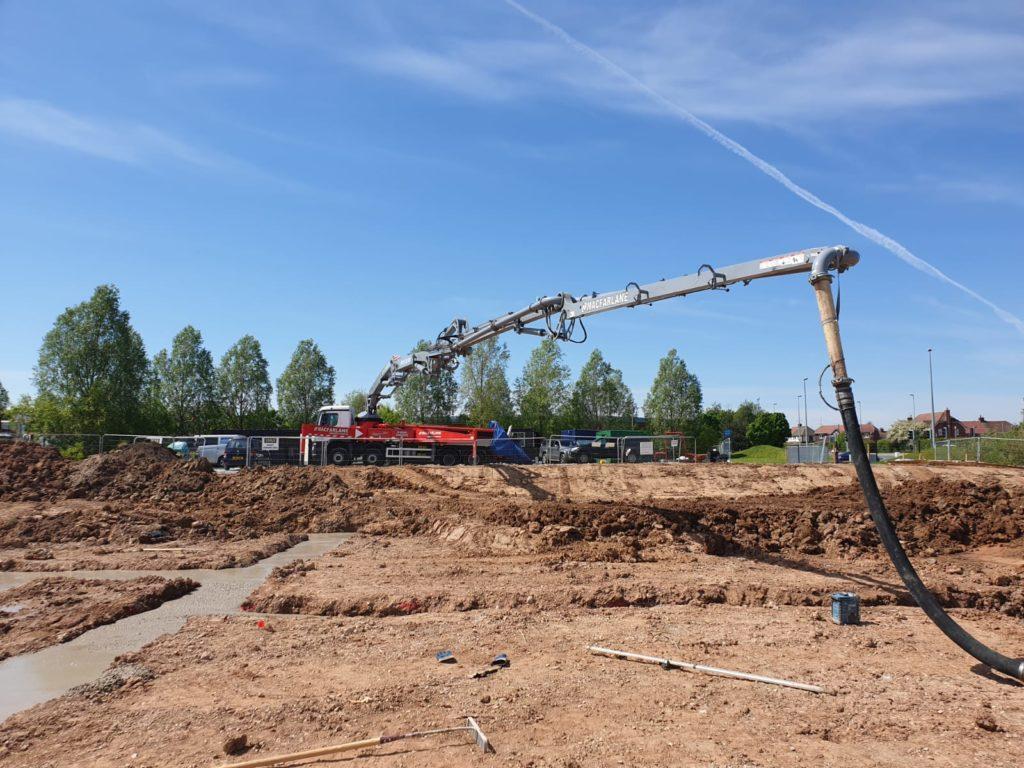 43SX new housing development In Cheshire